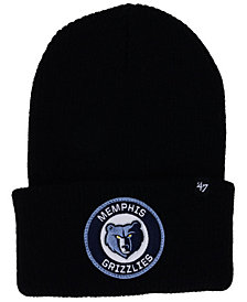 '47 Brand Memphis Grizzlies Ice Block Cuff Knit Hat