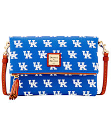 Dooney & Bourke Kentucky Wildcats Foldover Crossbody Purse