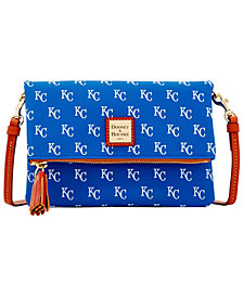 Dooney & Bourke Kansas City Royals Foldover Crossbody Purse
