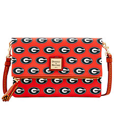 Dooney & Bourke Georgia Bulldogs Foldover Crossbody Purse