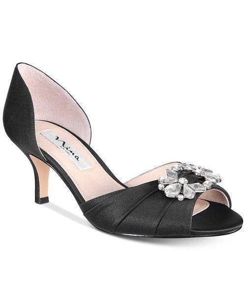 08d21f3b5a0 Nina Charisa Pumps   Reviews - Pumps - Shoes - Macy s