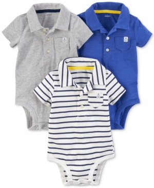 Carter's 3-Pack Polo-Neck...