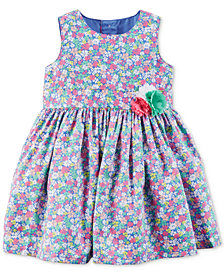 Carter's Floral-Print Dress, Baby Girls
