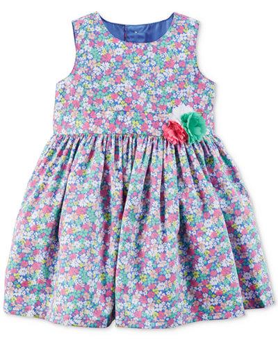 Carter's Floral-Print Dress, Baby Girls