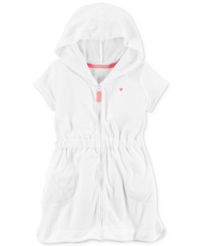 Carter's Zip-Up Cover-Up, Baby Girls