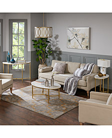 Bordeaux Living Room Table Collection, Quick Ship
