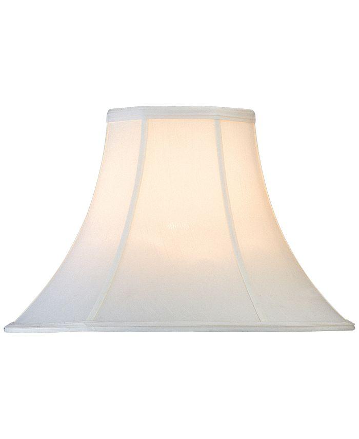 """Lite Source - Blatt Shantung Bell 18"""" Lamp Shade"""