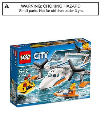 LEGO® City 141-Pc. Sea Rescue Plane Set - Toys & Games - Kids & Baby ...