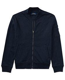 Ralph Lauren Full-Zip Bomber Jacket, Big Boys