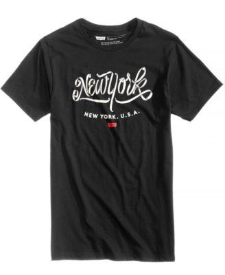Men's NYC Graphic-Print T-Shirt