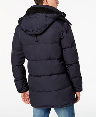 Superdry Men's SD Expedition Quilted Parka with Removable Hood ...