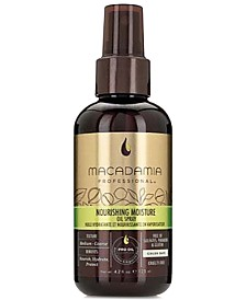 Macadamia Nourishing Moisture Oil Spray, 4.2-oz., from PUREBEAUTY Salon & Spa