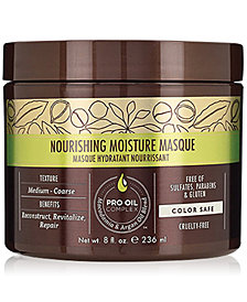 Macadamia Nourishing Moisture Masque, 8-oz., from PUREBEAUTY Salon & Spa
