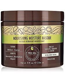 Macadamia Nourishing Moisture Masque, 8-oz., from PUREBEAUTY Salon & Spa