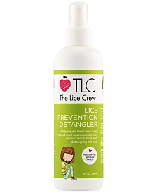 The Lice Crew Lice Prevention Detangler, 8-oz., from PUREBEAUTY Salon & Spa