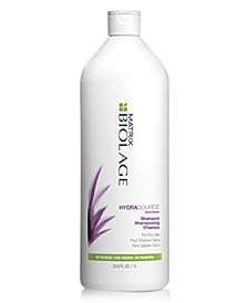 Matrix Biolage HydraSource Shampoo, 33.8-oz., from PUREBEAUTY Salon & Spa