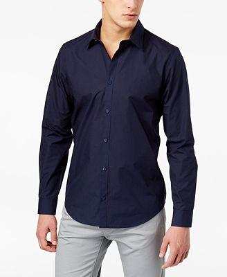 Calvin Klein Men's Perforated Shirt