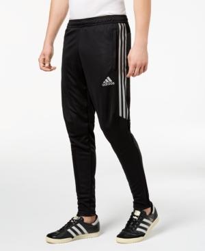 ed271022d ADIDAS ORIGINALS. Adidas Men's Tiro Metallic Soccer Pants in Black/Silver