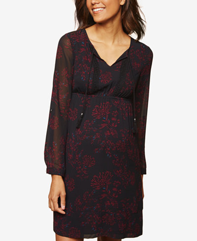 Daniel Rainn Maternity Printed Dress