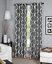Elrene Luna Window Collection - Easy Care Linen Look!