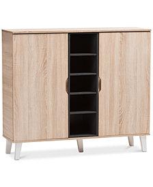 Adelina 2-Door Cabinet, Quick Ship