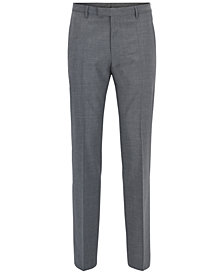 BOSS Men's Regular/Classic-Fit Stretch Dress Pants