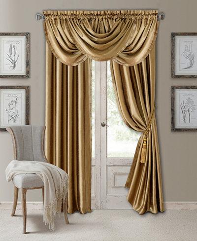 Elrene Versailles Faux Silk Room Darkening Window