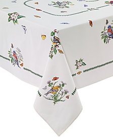 Portmeirion Botanic Birds Table Linens Collection