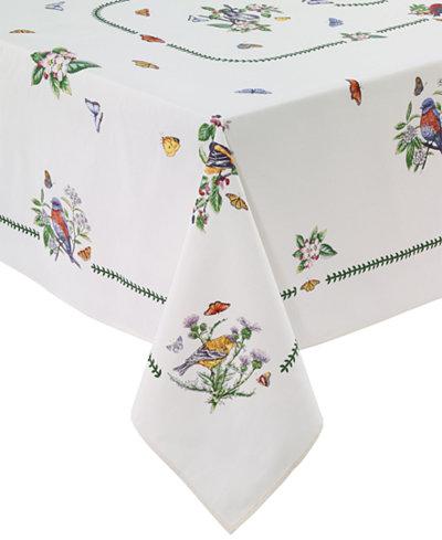Portmeirion Botanic Birds Table Linens Collection