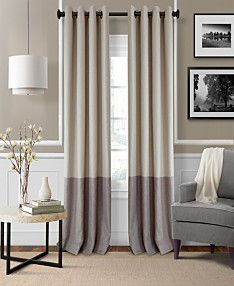Grey Curtains - Macy\'s