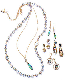 lonna & lilly Gold-Tone Multi-Stone Jewelry Collection