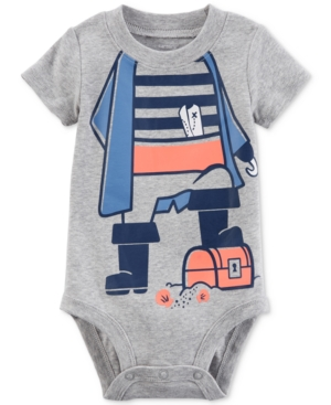 Carters Pirate Cotton Bodysuit Baby Boys (024 months)