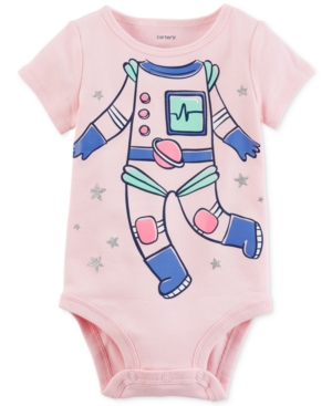 Carters Astronaut Cotton Bodysuit Baby Girls (024 months)