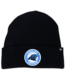 '47 Brand Carolina Panthers Ice Block Cuff Knit Hat