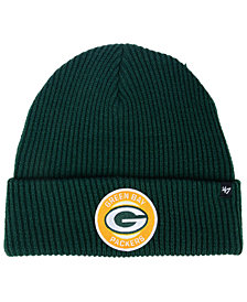 '47 Brand Green Bay Packers Ice Block Cuff Knit Hat