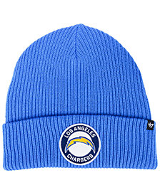 '47 Brand Los Angeles Chargers Ice Block Cuff Knit Hat