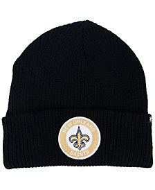 '47 Brand New Orleans Saints Ice Block Cuff Knit Hat
