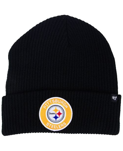 f8ae6e6308027 47 Brand Pittsburgh Steelers Ice Block Cuff Knit Hat   Reviews ...