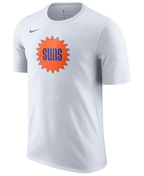 the best attitude 8c374 4f04a Nike Men's Phoenix Suns Hardwood Classics Logo T-Shirt ...
