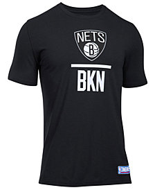 Under Armour Men's Brooklyn Nets Lockup T-Shirt