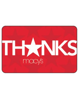 Thank You E-Gift Card - Gift Cards - Macy's