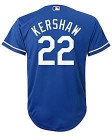 Clayton Kershaw Los Angeles Dodgers Player Replica Cool Base Jersey, Big Boys