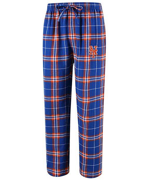 Concepts Sport Men's New York Mets Huddle Sleep Pants