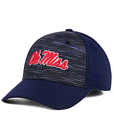 Top of the World Ole Miss Rebels Flash Stretch Cap