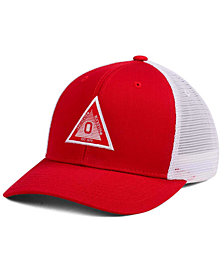 7d0acd22e11 Top of the World Ohio State Buckeyes Present Mesh Cap