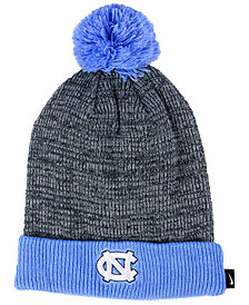 Nike North Carolina Tar Heels Heather Pom Knit Hat