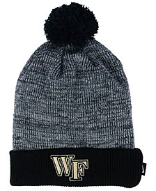 Nike Wake Forest Demon Deacons Heather Pom Knit Hat