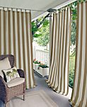 "Elrene Highland Stripe Indoor/Outdoor 50"" x 84"" Panel"