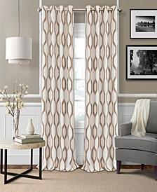 Renzo Ikat Linen Blackout Curtain Collection