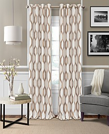 Elrene Renzo Blackout Panel Collection - Easy Care Linen Look!